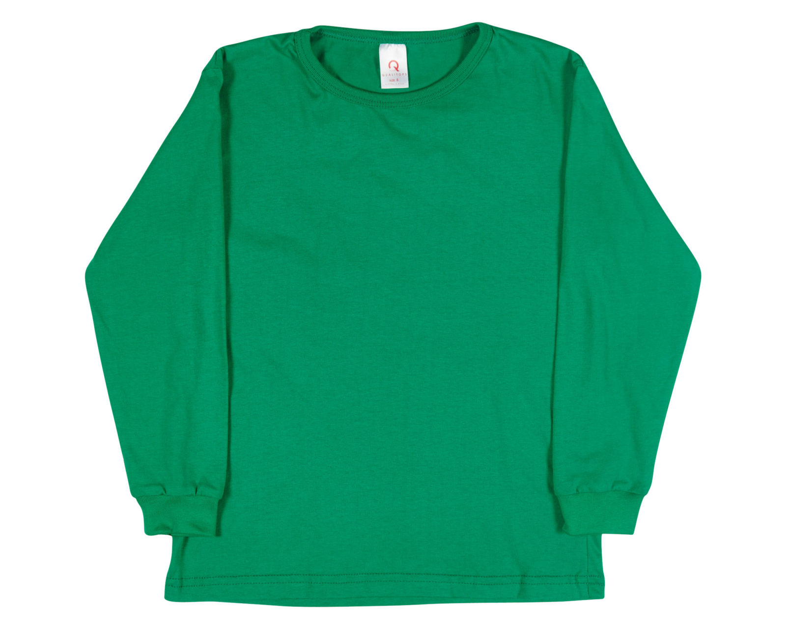 Qualitops Kids Long Sleeve Tee Cotton Australian made clothing
