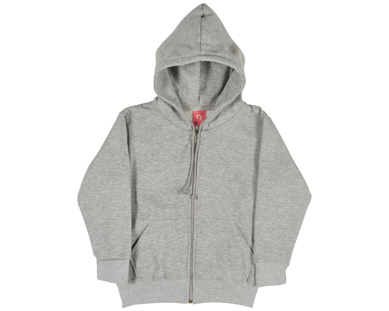 Qualitops Kids Zip Hoodie Polycotton Australian made clothing