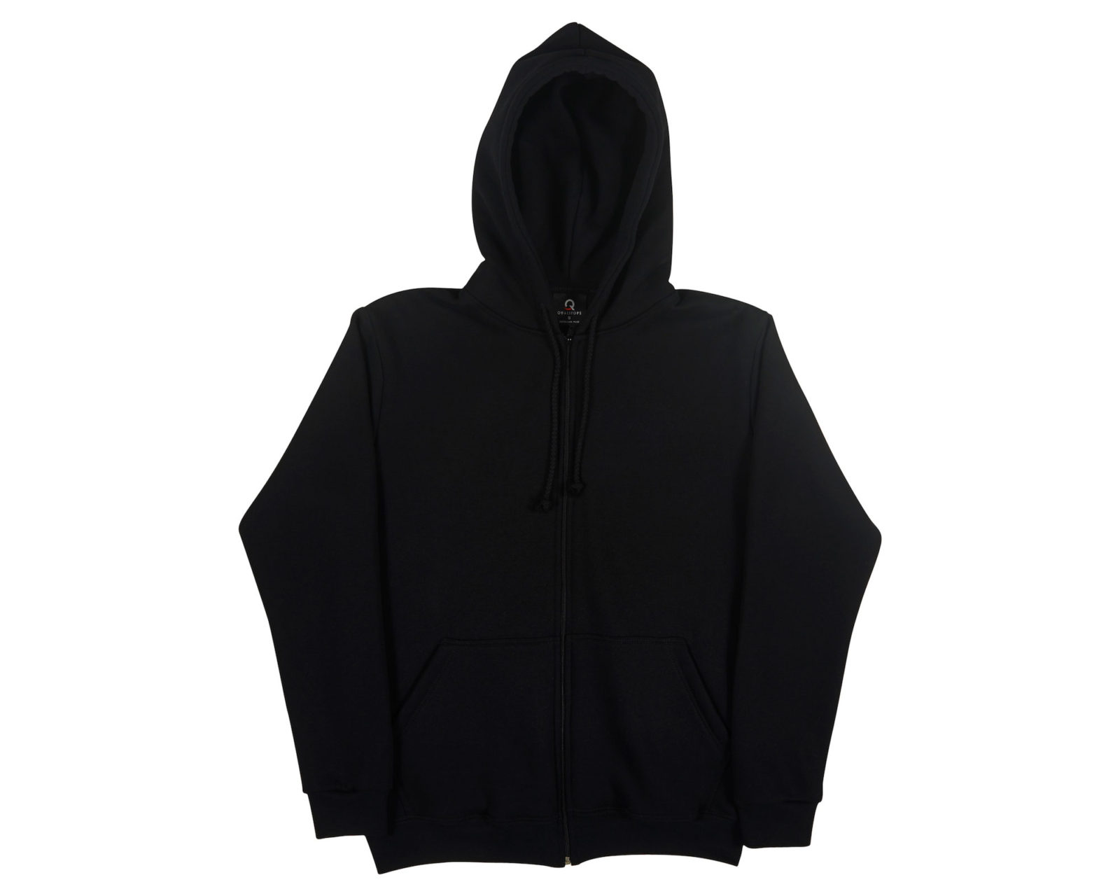 Qualitops Mens Zip Hoodie Polycotton Australian made clothing