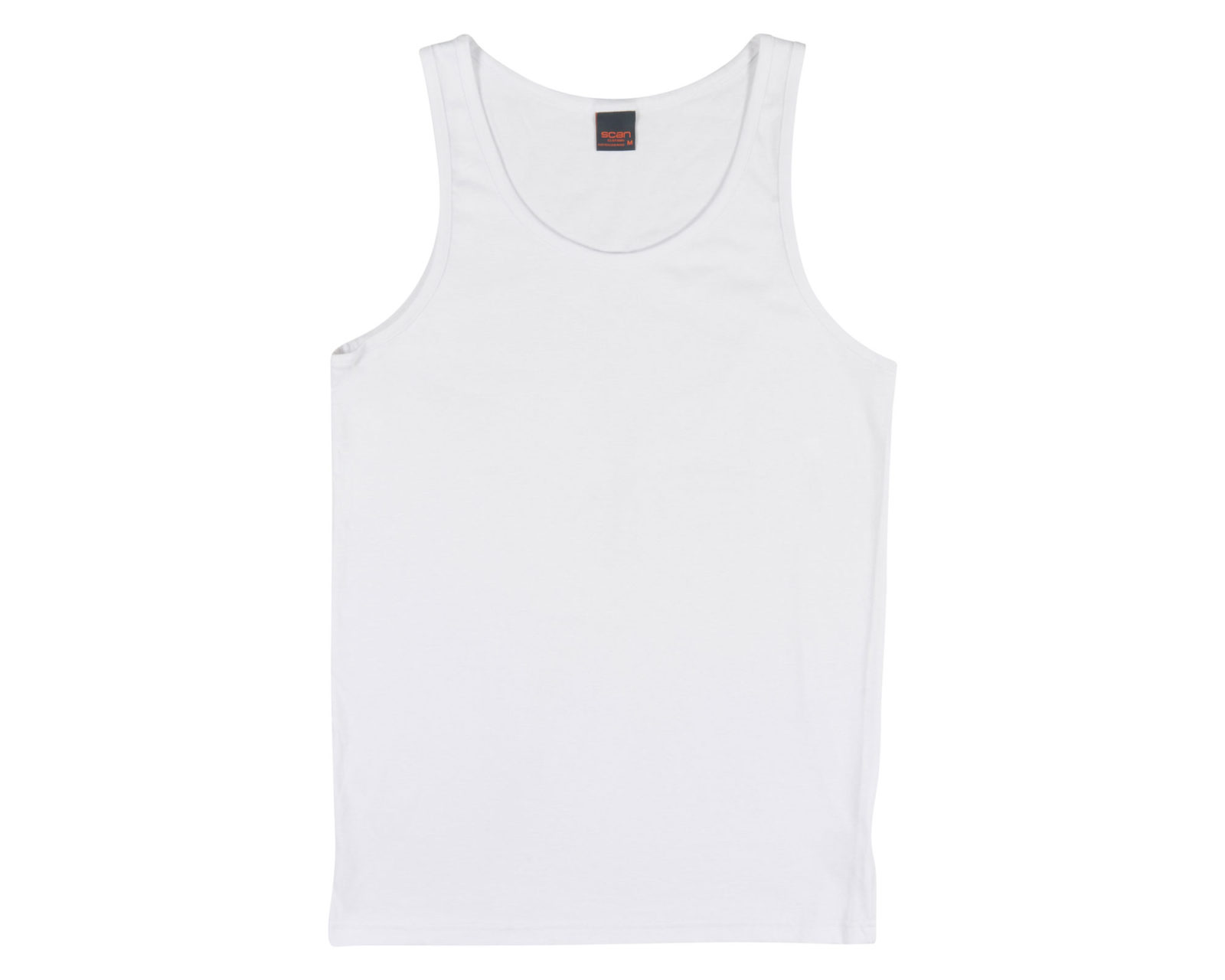 Qualitops Mens Tall Singlet Cotton Australian made clothing