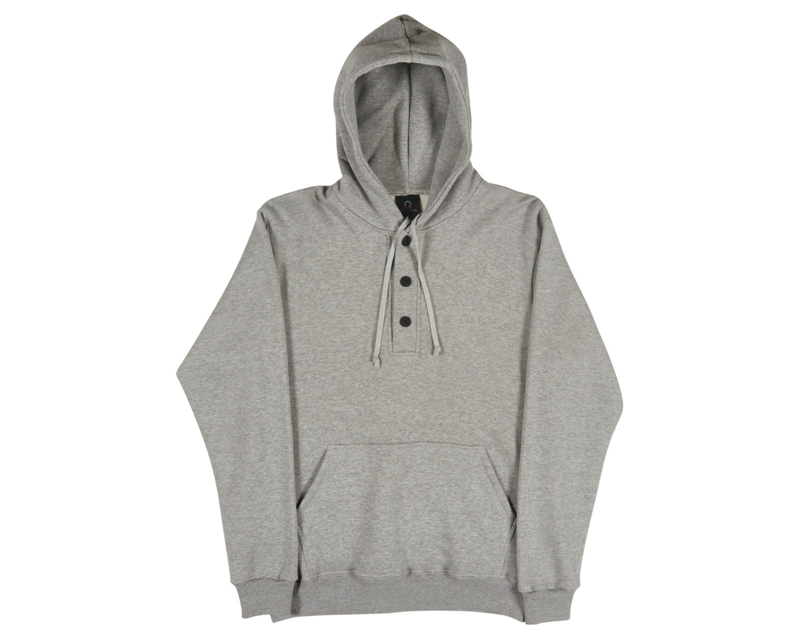 Qualitops Mens Henley Hoodie Polycotton Australian made clothing