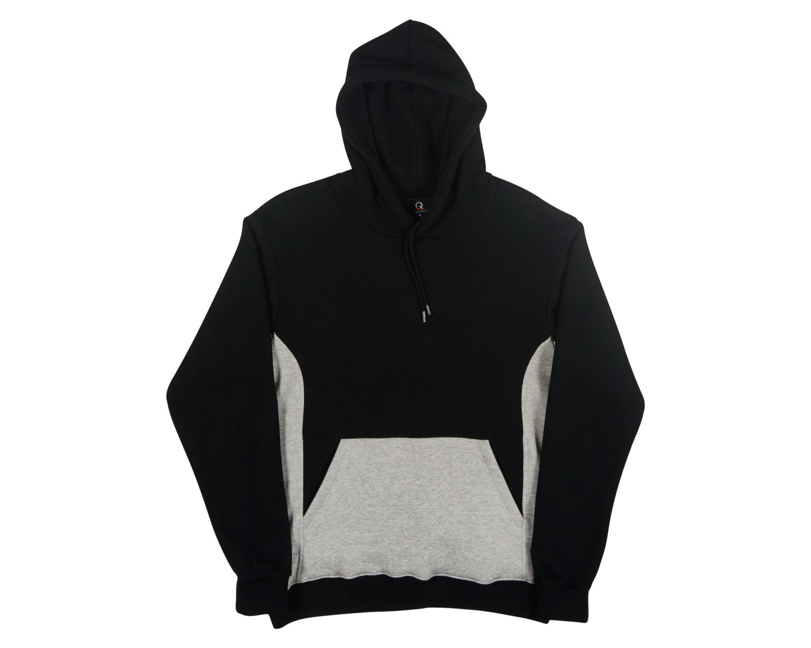 Qualitops Mens Two Tone Hoodie Polycotton Australian made clothing