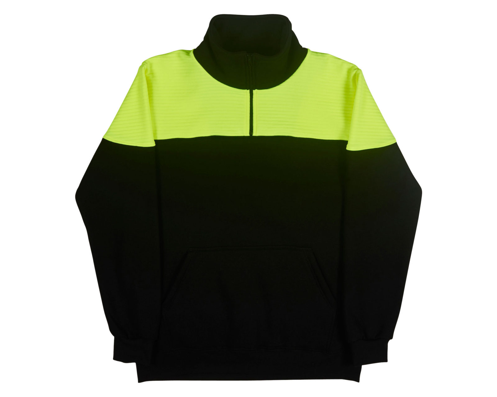 Qualitops Custom Made Mens Two Tone Hi Vis Windcheater Polycotton Australian made clothing