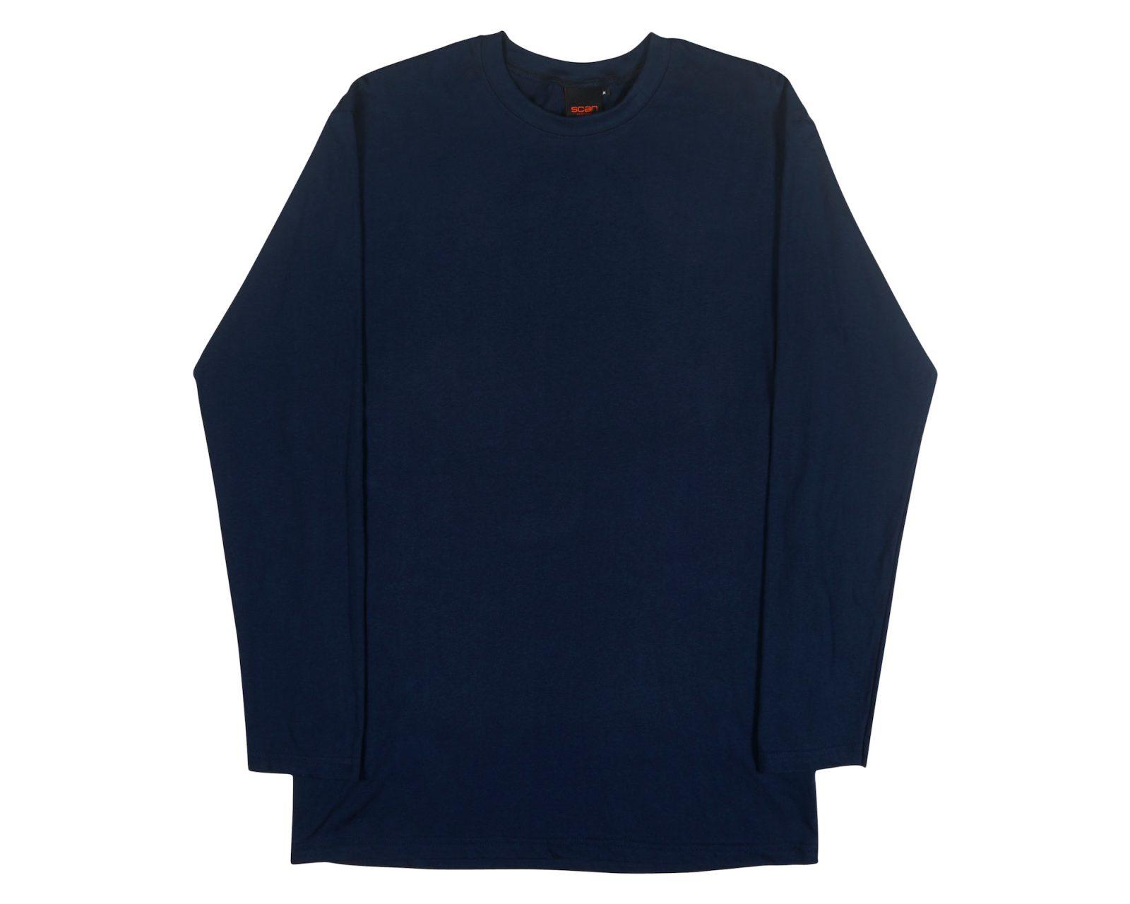 a660df710 Men's Tall L/S T-shirt   Australian Made Longline Tee   Qualitops