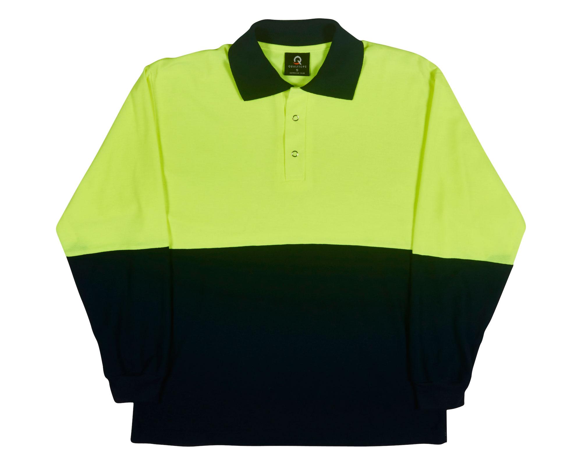 Long Sleeve Polo Mens Shirt
