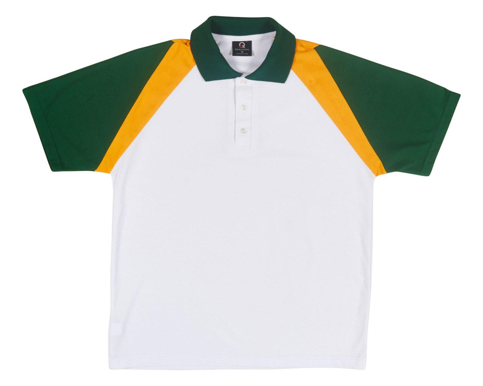 Mens Two Tone Ss Polo 408 Australian Made Polo Shirt Qualitops