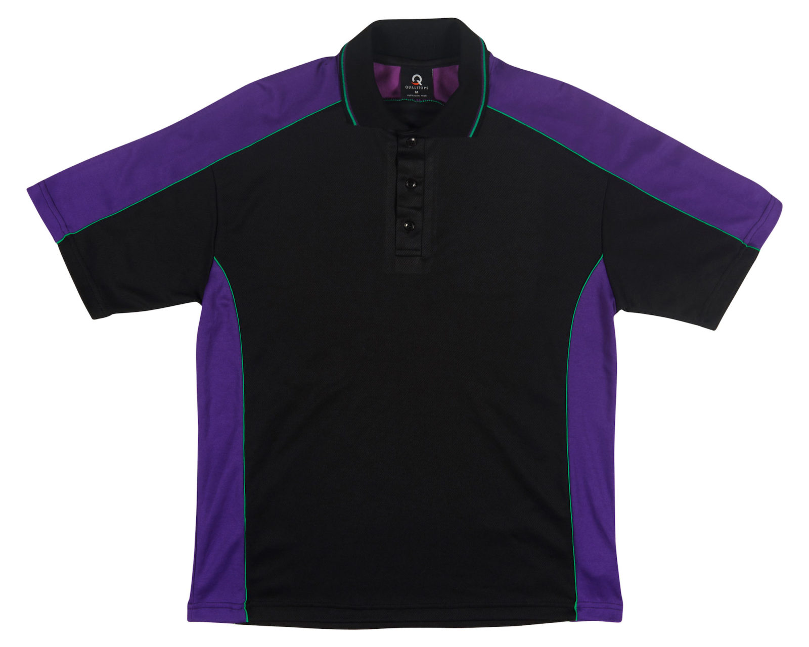 Mens two tone s s polo 524 australian made polo shirt for Custom tailored polo shirts